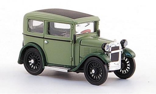 Bmw Dixi 1/87 Ricko verte/verte 1929 ohne Vitrine miniature