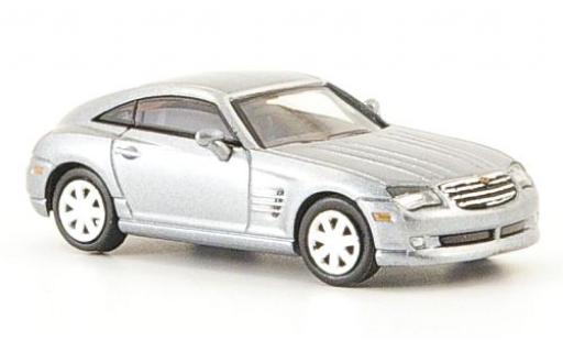 Chrysler Crossfire 1/87 Ricko Coupe grise miniature