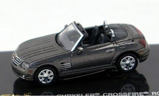 Chrysler Crossfire 1/87 Ricko Roadster metallise grise miniature