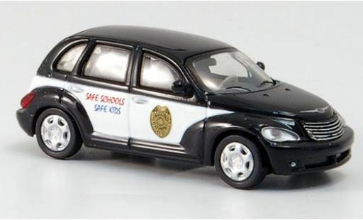 Chrysler PT Cruiser 1/87 Ricko School Resource Office Car 2006 miniature