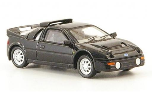 Ford RS 200 1/87 Ricko noire 1986 miniature