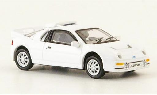 Ford RS 200 1/87 Ricko blanche 1986 miniature