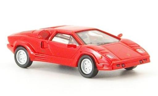 Lamborghini Countach 1/87 Ricko 25th Anniversary red 1989 diecast model cars