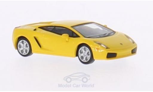 Lamborghini Gallardo 1/87 Ricko jaune 2004 ohne Vitrine miniature