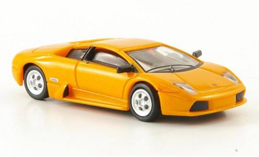 Lamborghini Murcielago 1/87 Ricko métallisé orange 2001 miniature