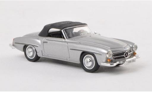 Mercedes 190 1/87 Ricko SL (W121 BII) grise miniature