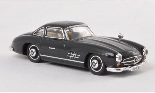 Mercedes 300 1/87 Ricko SL (W198) noire miniature