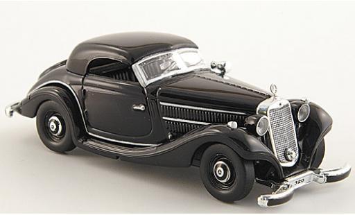 Mercedes 320 1/87 Ricko n (W142) noire miniature