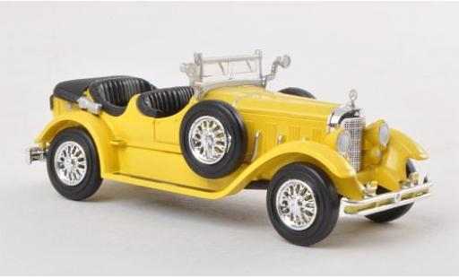 Mercedes Classe S 1/87 Ricko 630K yellow 1927 diecast model cars