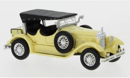 Mercedes Classe S 1/87 Ricko 630K jaune 1927 Verdeck fermé miniature