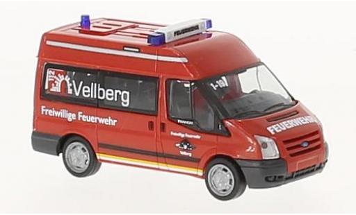 Ford Transit 1/87 Rietze Feuerwehr Vellberg 2006 miniature