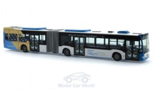 Mercedes Citaro 1/87 Rietze G 150 Jahre Stadtwerke Wilhelmshaven 2015 diecast model cars