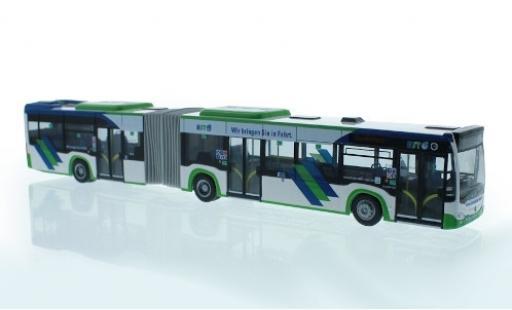 Mercedes Citaro 1/87 Rietze G Hybrid Hagener Straßenbahn 2015 miniature