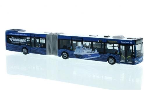 Mercedes Citaro 1/87 Rietze G Stadtverkehr Lübeck - Finnlines 2015 diecast model cars