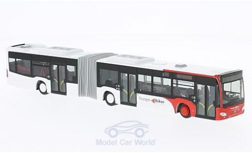 Mercedes Citaro 1/87 Rietze G Voyages Ecker (LU) 2015 diecast model cars