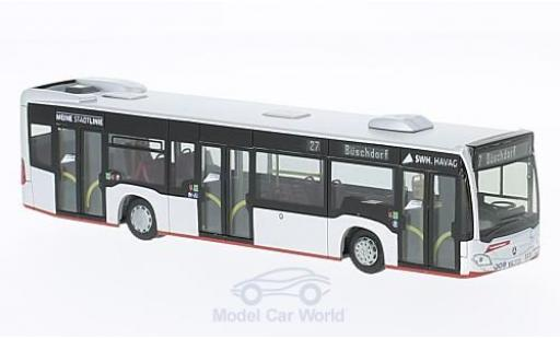 Mercedes Citaro 1/87 Rietze HAVAG - Genscher Bus Halle 2015 diecast model cars