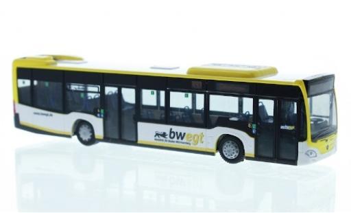 Mercedes Citaro 1/87 Rietze Hybrid Omnibusverkehr Göppingen 2015 diecast model cars