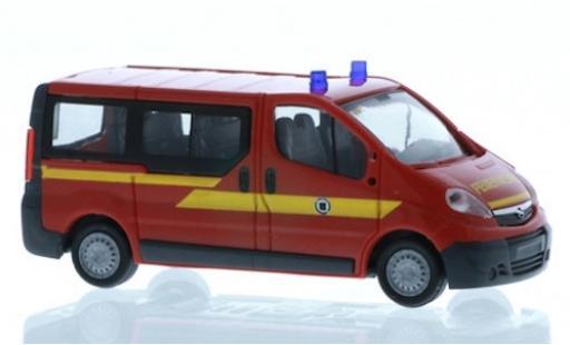 Opel Vivaro 1/87 Rietze Feuerwehr Dresden - Weixdorf modellautos