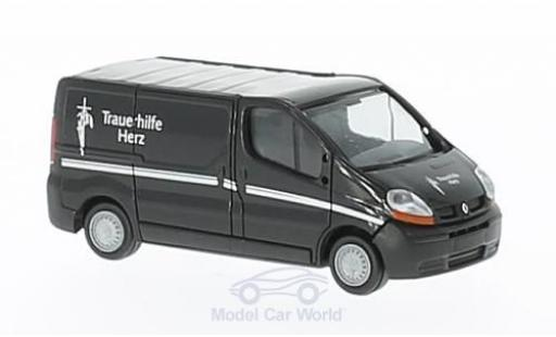 Renault Trafic 1/87 Rietze Trauerhilfe Herz - Filmwagen ohne Vitrine diecast model cars