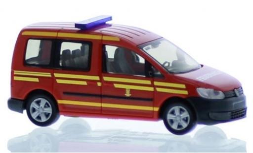 Volkswagen Caddy 1/87 Rietze Feuerwehr München 2011 modellautos