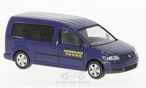 Volkswagen Caddy 1/87 Rietze Maxi Luxambulance (LU) diecast
