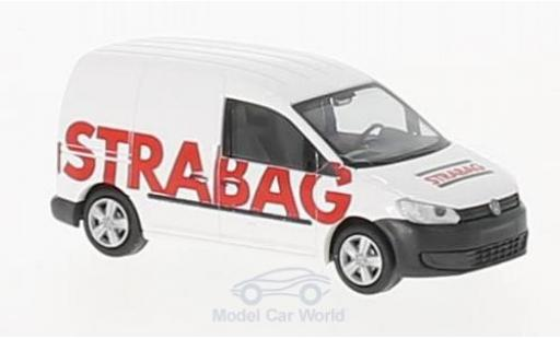 Volkswagen Caddy 1/87 Rietze STRABAG 2011 diecast model cars