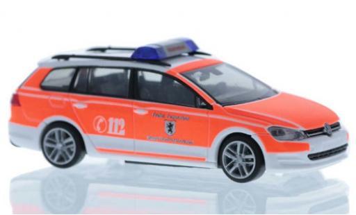 Volkswagen Golf 1/87 Rietze VII Variant Feuerwehr Wolfratshausen