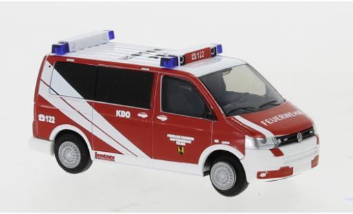 Volkswagen T5 1/87 Rietze Bus Feuerwehr Villach 2010 diecast model cars