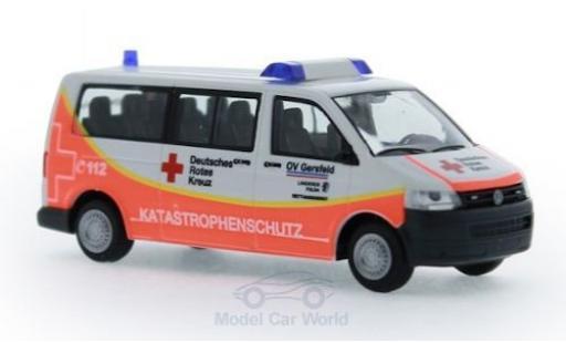 Volkswagen T5 1/87 Rietze DRK - Katastrophenschutz Gersfeld 2010 modellautos