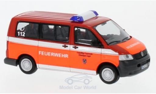 Volkswagen T5 1/87 Rietze Feuerwehr Ellwangen 2003 miniature