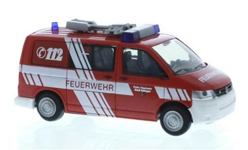 Volkswagen T5 1/87 Rietze Feuerwehr Ettlingen 2010 miniature