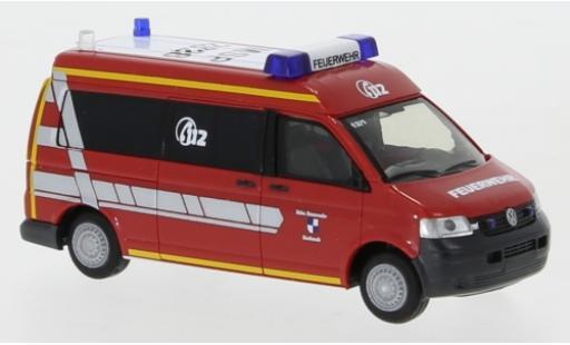 Volkswagen T5 1/87 Rietze Feuerwehr Karlstadt miniature