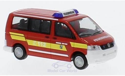 Volkswagen T5 1/87 Rietze First Responder - Feuerwehr Stein/Nbg. 2003 miniature
