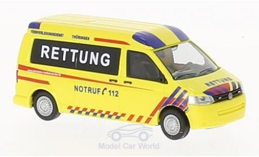 Volkswagen T5 1/87 Rietze GP Emergency Medical Service Thüringen 2010 diecast