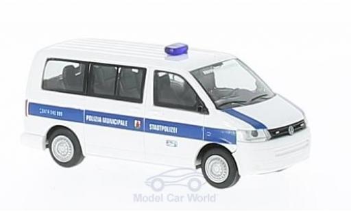Volkswagen T5 1/87 Rietze GP Polizia Municipale (IT) ohne Vitrine miniature