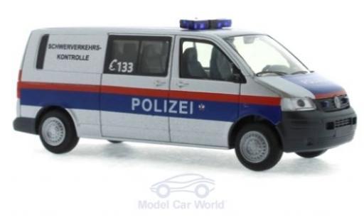 Volkswagen T5 1/87 Rietze Halbbus Polizei - Schwerverkehrskontrolle (AT) 2003 miniature