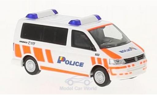 Volkswagen T5 1/87 Rietze VW T5 Police Geneve (CH) 2010 diecast