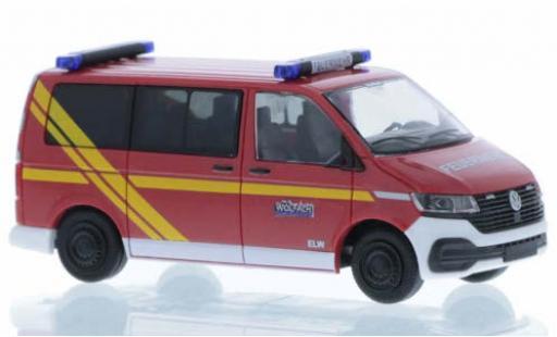 Volkswagen T6 1/87 Rietze .1 Feuerwehr Wolfach court- empattement diecast model cars