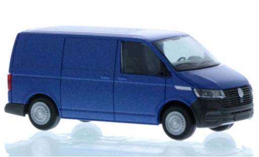 Volkswagen T6 1/87 Rietze .1 Kasten metallise blue court- empattement diecast model cars