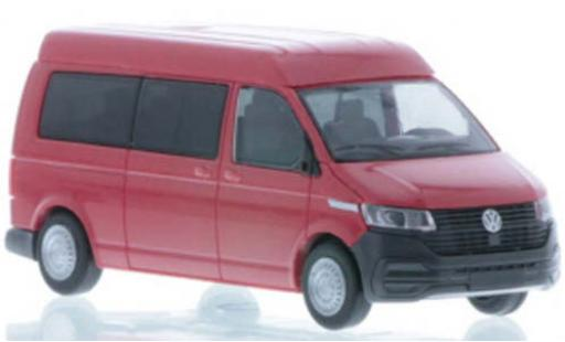 Volkswagen T6 1/87 Rietze .1 LR Bus MD red diecast model cars