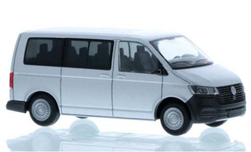 Volkswagen T6 1/87 Rietze .1 grise court- empattement miniature