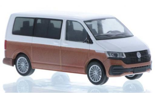 Volkswagen T6 1/87 Rietze .1 white/bronze court- empattement diecast model cars