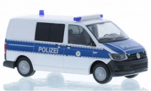 Volkswagen T6 1/87 Rietze Bundespolizei court- empattement miniature