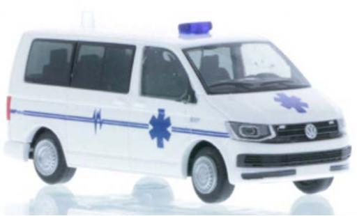 Volkswagen T6 1/87 Rietze Bus Ambulance arf France miniature