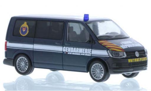 Volkswagen T6 1/87 Rietze Bus Gendarmerie Garde Republicaine (F) diecast model cars