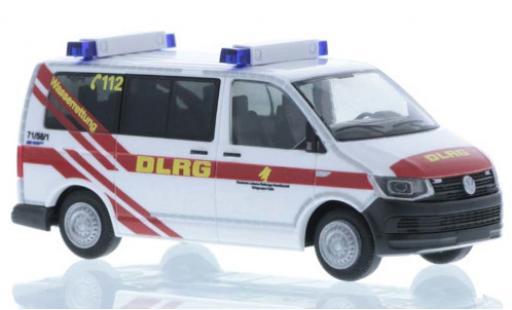 Volkswagen T6 1/87 Rietze DLRG Celle sauvetage aquatique court- empattement miniature