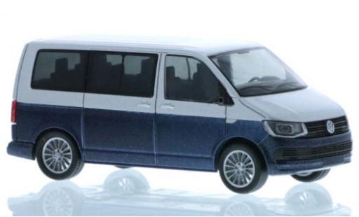 Volkswagen T6 1/87 Rietze grey/metallise blue court- empattement diecast model cars