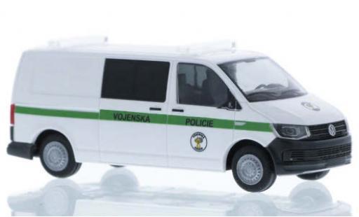 Volkswagen T6 1/87 Rietze Vojenska Policie (CZ) plus long empattement diecast model cars