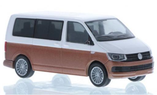 Volkswagen T6 1/87 Rietze white/bronze court- empattement diecast model cars