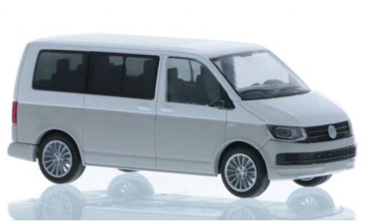 Volkswagen T6 1/87 Rietze white/grey court- empattement diecast model cars